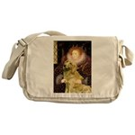 The Queen's Golden Messenger Bag