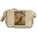 Spring & Golden (#12) Messenger Bag