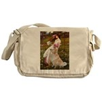 Windflowers / Golden Messenger Bag