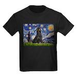 Starry Night & Gordon Kids Dark T-Shirt