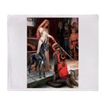 Accolate/Great Dane (B10) Throw Blanket