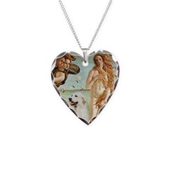 Venus / Great Pyrenees Necklace