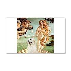 Venus / Great Pyrenees Car Magnet 20 x 12