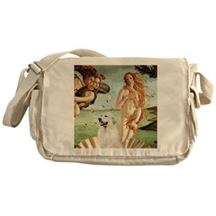 Venus / Great Pyrenees Messenger Bag