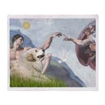 Creation / Gr Pyrenees Throw Blanket