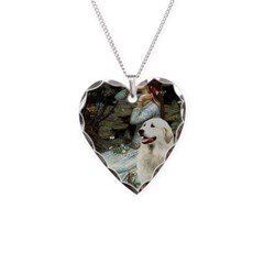 Ophelia / Gr Pyrenees Necklace