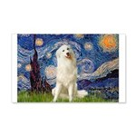 Starry Night / Pyrenees 20x12 Wall Decal