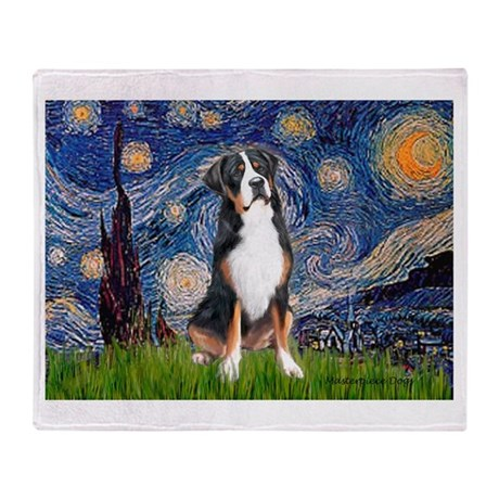 Starry Night / GSMD Throw Blanket