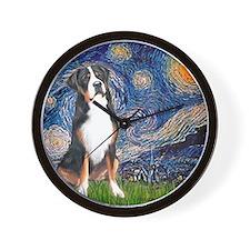 Starry Night / GSMD Wall Clock