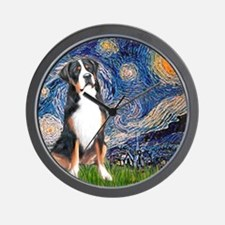Starry Night / GSMD Wall Clock