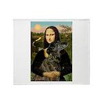 Mona / Greyhound(br) Throw Blanket
