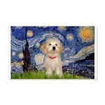 Starry / Havanese 20x12 Wall Decal