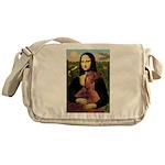 Mona /Irish Setter Messenger Bag