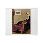Whistler's / Irish S Throw Blanket