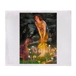 Fairies / Irish S Throw Blanket