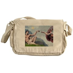Creation / Ital Greyhound Messenger Bag