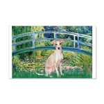 Bridge / Ital Greyhound 20x12 Wall Decal