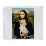 Mona Lisa / Ital Greyhound Throw Blanket