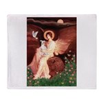 Seated Angel / Ital Greyhound Throw Blanket