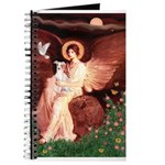 Seated Angel / Ital Greyhound Journal