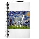 Starry Night/Italian Greyhoun Journal