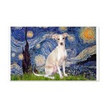 Starry Night / Ital Greyhound 20x12 Wall Decal