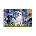Starry Night / Ital Greyhound 20x12 Wall Decal