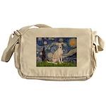 Starry Night / Ital Greyhound Messenger Bag