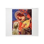 Mandolin Angel /Italian Spino Throw Blanket