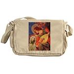 Mandolin Angel /Italian Spino Messenger Bag