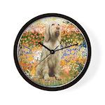 Garden Fiorito/ Spinone Wall Clock