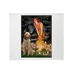 Fairies/ Italian Spinone Throw Blanket