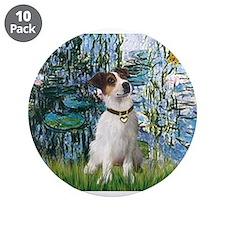 "Lilies / JRT 3.5"" Button (10 pack)"