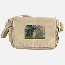 Lilies / JRT Messenger Bag