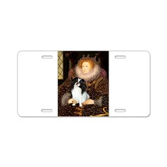 Queen/Japanese Chin Aluminum License Plate