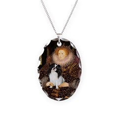 Queen/Japanese Chin Necklace