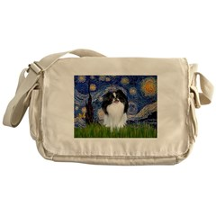 Starry/Japanese Chin Messenger Bag