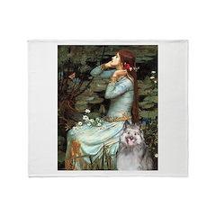 Opohelia's Keeshond (E) Throw Blanket