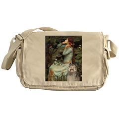 Opohelia's Keeshond (E) Messenger Bag