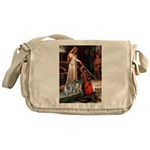 Accolade - 2 Keeshonds Messenger Bag