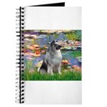 Lilies / Keeshond Journal