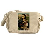 Mona / Labrador Messenger Bag