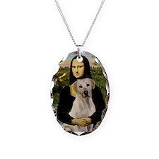 Mona Lisa / Lab (y) Necklace