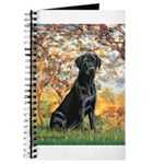 Spring & Black Lab Journal