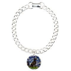 Starry Chocolate Lab Bracelet