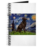 Starry Chocolate Lab Journal