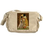 The Kiss-Yellow Lab Messenger Bag