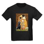 The Kiss & Black Lab Kids Dark T-Shirt