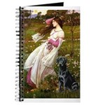 Windflowers & Black Lab Journal