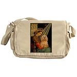 Madonna / Lhasa Apso #9 Messenger Bag
